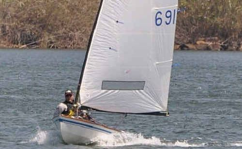Glenn Williams produced solid form at the OK Dinghy National Championships.