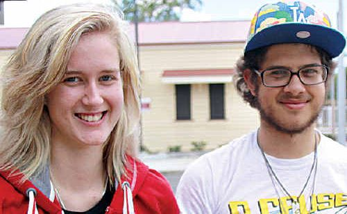 Emily Robinson, of Brisbane, and Ben Koning, of Buderim, like the Go card system.