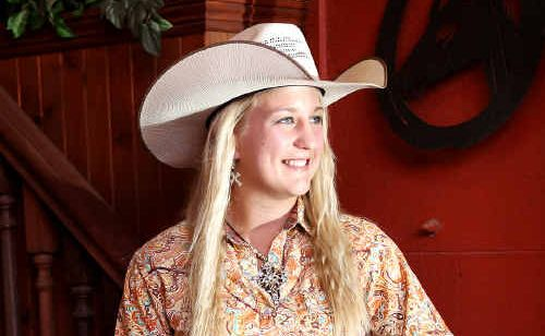 Rachael Behan stole the show at recent New Zealand rodeo.