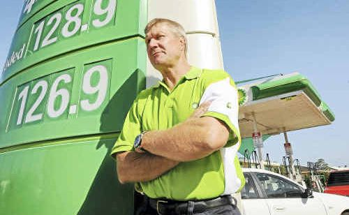 Wessel Petroleum general manager Paul Wessel is hoping that petrol prices will level out in the coming months.