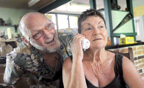 Noelene and Edward Paintin sat the Hearing Australia screening tests.