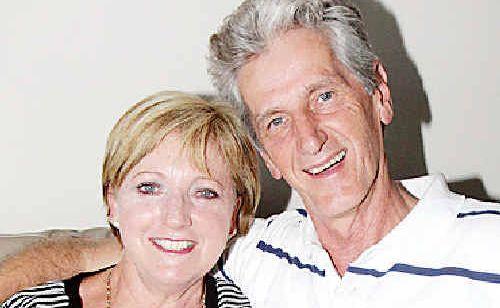 Joan van Lieshout with husband, Peter.