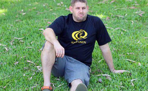Brahman player Scott McPherson.