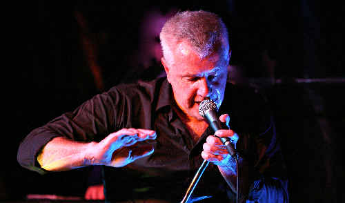 Australian music icon Daryl Braithwaite.