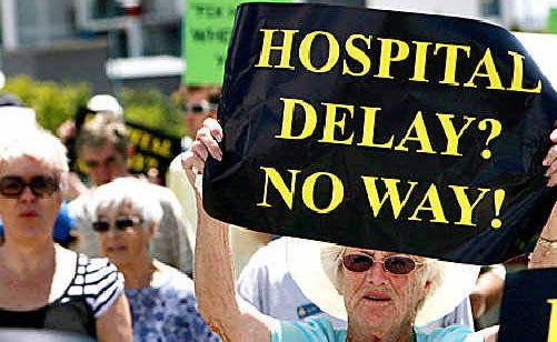 The push for a new hospital at Kawana.
