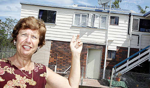 Lynne Edwell of Aldershot has got little value after installing an expensive solar power system recently.
