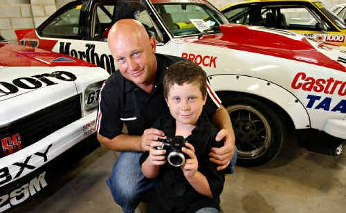 The Bowden family's open day shows off their collection of some of Australia's best cars.