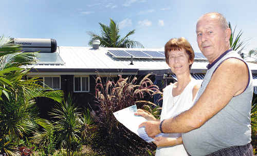 Trudie and John Parsons would not be without their solar power and say that, worked right, home owners can save a significant amount.