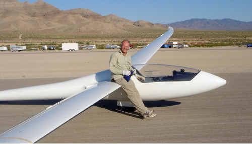Sunshine Coast glider John Buchanan is bound for Hungary.