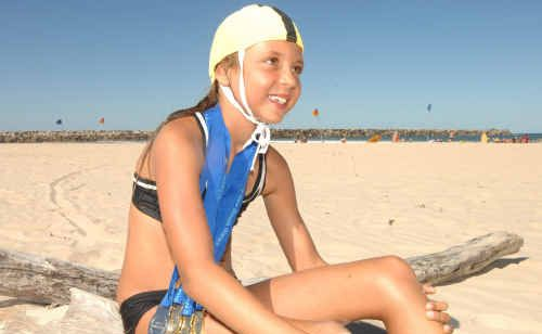 NSW Country Surf Life Saving champion Lyteeka Curry reflects on her efforts at Turners Beach, Yamba.