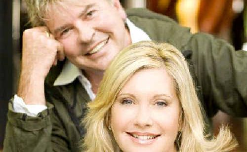 Gaia Retreat and Spa co-owners Gregg Cave and Olivia Newton-John are delighted at the success of their luxury Newrybar retreat.