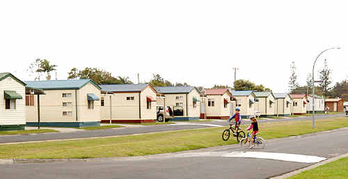 Long-term campers at the Silver Sands Caravan Park in Evans Head fear they are being forced out by State Government plans to redevelop the area in favour of higher-paying holidaymakers.