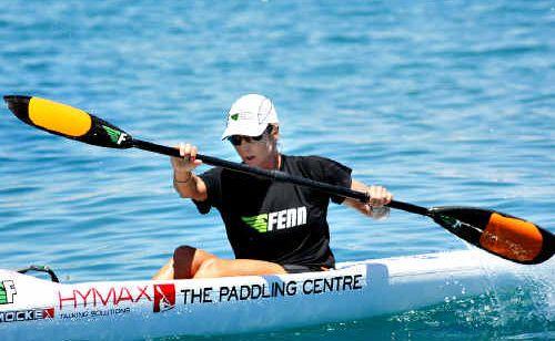 Kirsty Holmes is loving her new career as an ocean paddler.