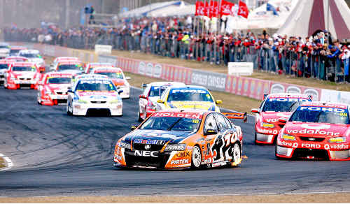 THE V8 Supercars are back in North Queensland this weekend for the Townsville 400.