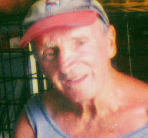 Police say Kevin Kirk was last seen walking his dog on Monday morning through a Brunswick Head caravan park.