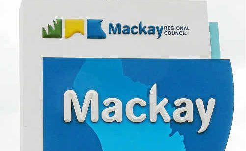 A Mackay Regional Council sign on the Peak Downs Highway was the target of vandals this week. Vandals attacked the sign's switchboard affecting its lighting.