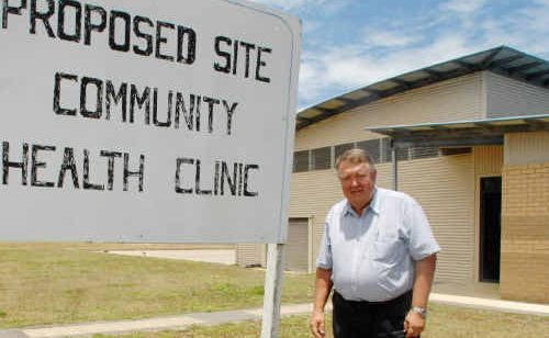 Profits from a community bank at Yamba could go towards the creation of a health clinic on the Treelands Drive site.
