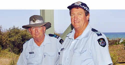 Fraser Island provides a unique and challenging policing precinct for Senior Constable Bill Worden and Sergeant Roger Williams.