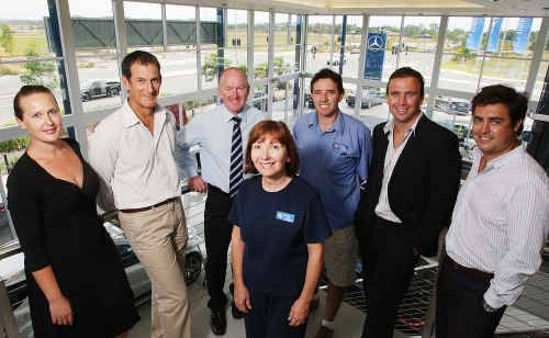 Maroochydore's Sunshine Cove development team is ready for the project to take off in 2010.