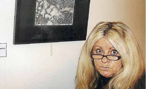 Artist Tracey Jane is exhibiting her collection of graphite drawings at Gin Gin Regional Courthouse Gallery until Friday.