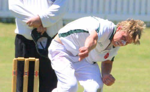 Easts' Jason Limbert against South at Ellem Oval.