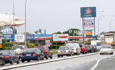 The Big Prawn and its associated 24-hour Caltex petrol station will become a thing of the past from next week.