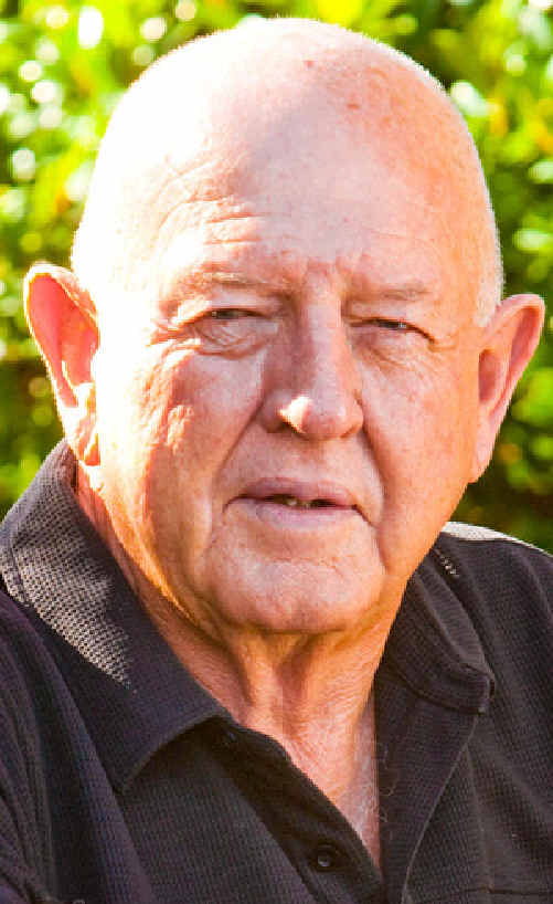 KEVIN JONES, of Townsend, awarded the OAM in the Australia Day honours list. Adam Hourigan