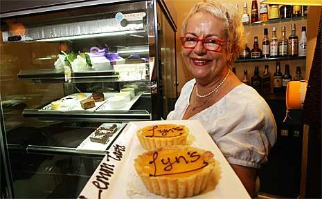 Lyn Howard, owner of Minyama restaurant Lyn's Place.