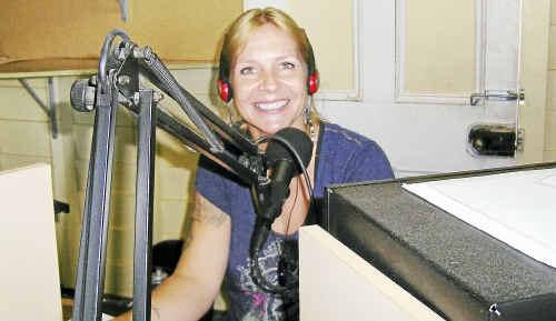Gin Gin Community Radio Station presenter Kate Smith.