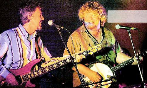 The Bobkatz, songwriter Garry Koehler (left) and guitarist Robert Mackay.