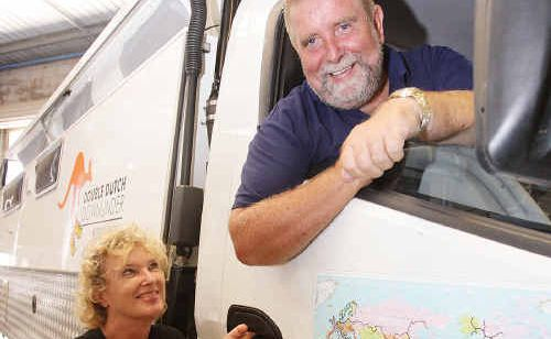 Robert and Clary Van Den Hoven are getting ready to set off on a five-year journey around the world in their Mitsubishi Canter.