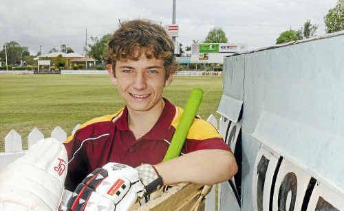 Under-16 Bundaberg cricket captain Steven Grogan will lead his undefeated team against Rockhampton this weekend.