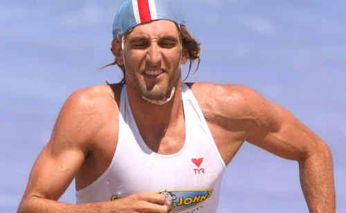 Met Caloundra's Corey Jones in the Open Ironman.