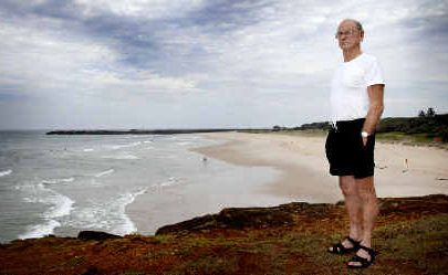 A former lifesaver of 25 years, Denis Magnay, of Ballina, believes there should be lifesaving rescue equipment available on all remote beaches.