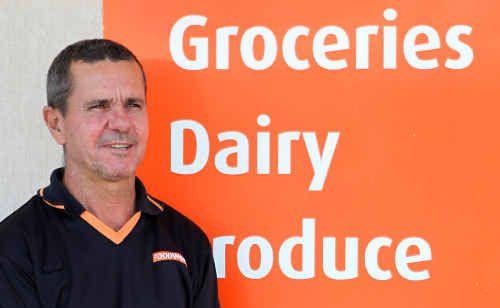 George St Foodworks owner Phill Hardiman.