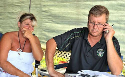 Bruce and Christine Edwards are devastated about management's decision to evict them from Cotton Tree Caravan Park.