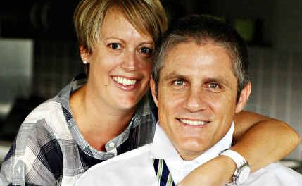 Tim Dwyer likes looking good and dressing well – with the help of his wife Kellie.