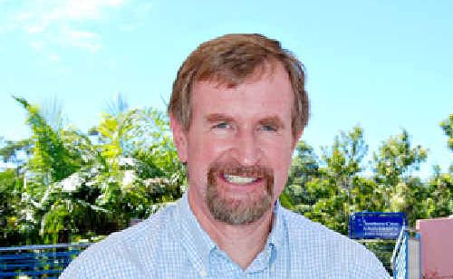 Professor Peter Croll, one of the architects of the Coffs Harbour NBN proposal.