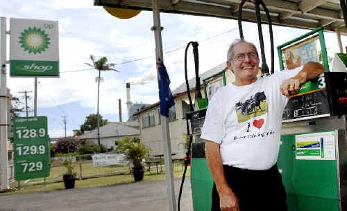 Service station owner Bill Wicks, of Broadwater, is an avid horse driving trials fan.