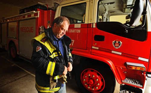 It has been a busy and frustrating month for South Grafton Fire Brigade captain Dennis Pye.