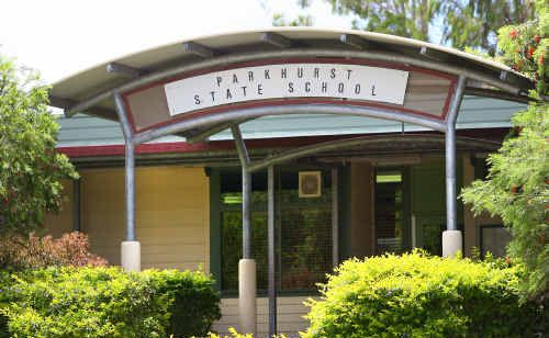 Parkhurst State School where two wandering prep students caused a panic on their second day.