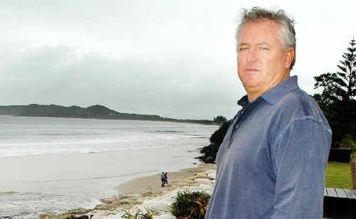 Belongil Beach resident John Vaughan is considering whether to pursue Supreme Court action against Byron Shire Council.