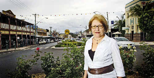 Kyogle retail shop owner Laura Faucher will head one of the focus groups that look at the economic development in Kyogle.