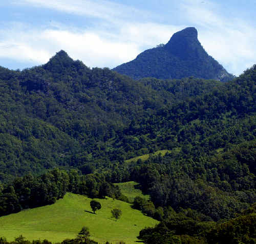 A VISIT to the summit of Mount Warning.