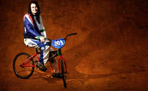 South Grafton's Jess Curtis is off to BMX World Titles in South Africa... hopefully.