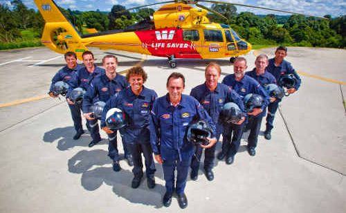 Aircrew of the Westpac Life Saver Rescue Helicopter worked hard in January.
