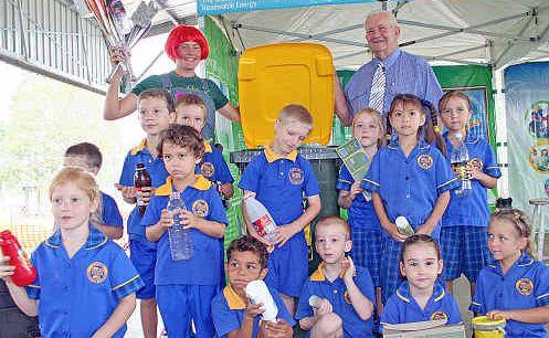 Kindergarten kids from Casino Christian School.