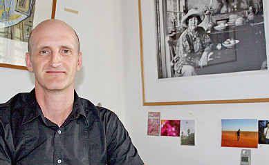 Brett Adlington, the new director of the Lismore Regional Gallery.
