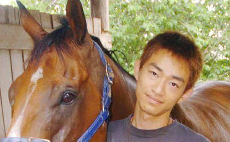 Katsuto Yoneyama and Suntanned. Photo: Rob Barich sun0502b