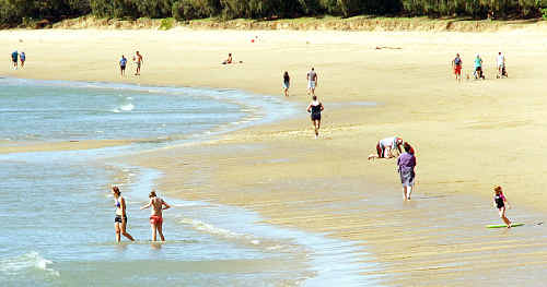 Developers have sand cleaned and taken to the Bay's beaches at the command of the council.